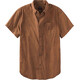 Prana M's Broderick Slim SS Shirt Tree Bark